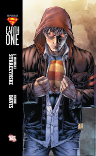 Review Superman Earth One J. Michael Straczynski Shane Davis Clark Kent DC Comics Cover original graphic novel ogn hardcover hc trade paperback tpb comic book