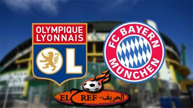 تفاصيل مباراة بايرن ميونخ و ليون في نصف نهائي دوري ابطال اوروبا