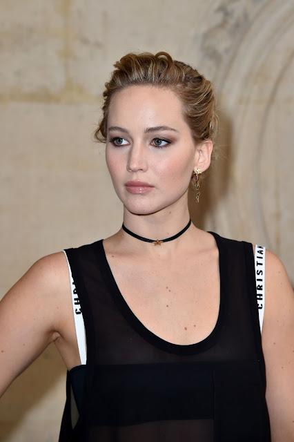 Jennifer Lawrence – Christian Dior Show at Paris Fashion Week