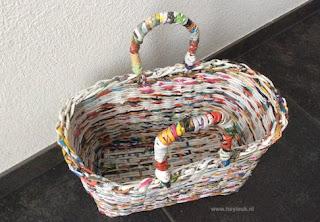 Tas van papieren pijlen
