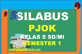 Silabus PJOK Kelas 5 SD/MI Kurikulum 2013 Revisi Terbaru Tahun 2021-2022