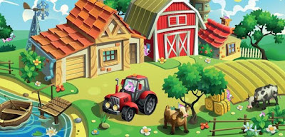 Q 26. Can you spot all the unicorns that are hiding on this farm?