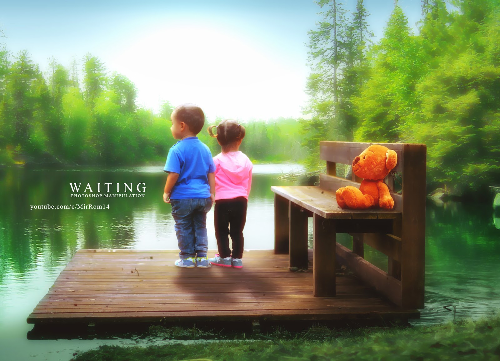Waiting - Photoshop Photo Manipulation Tutorial