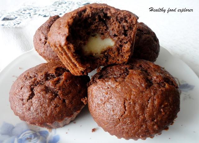 Fit muffinki kakaowe