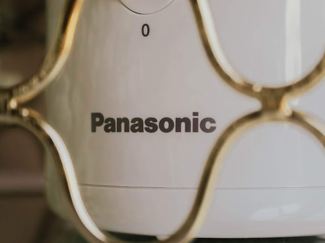 Panasonic beauty tool brand label