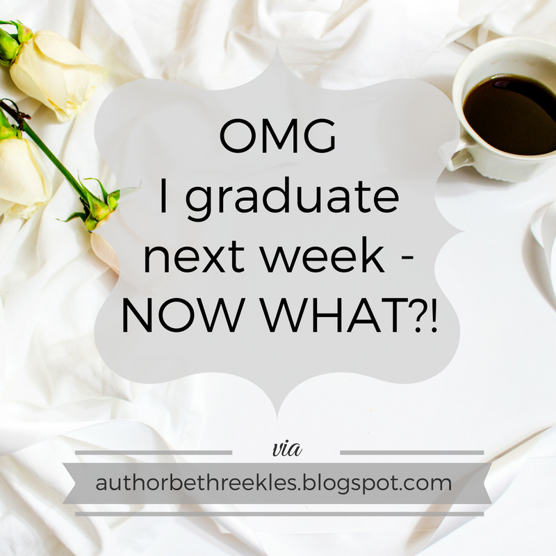 Growing up is TERRIFYING, and in this post I talk about some of my next steps now that I'm graduating university.