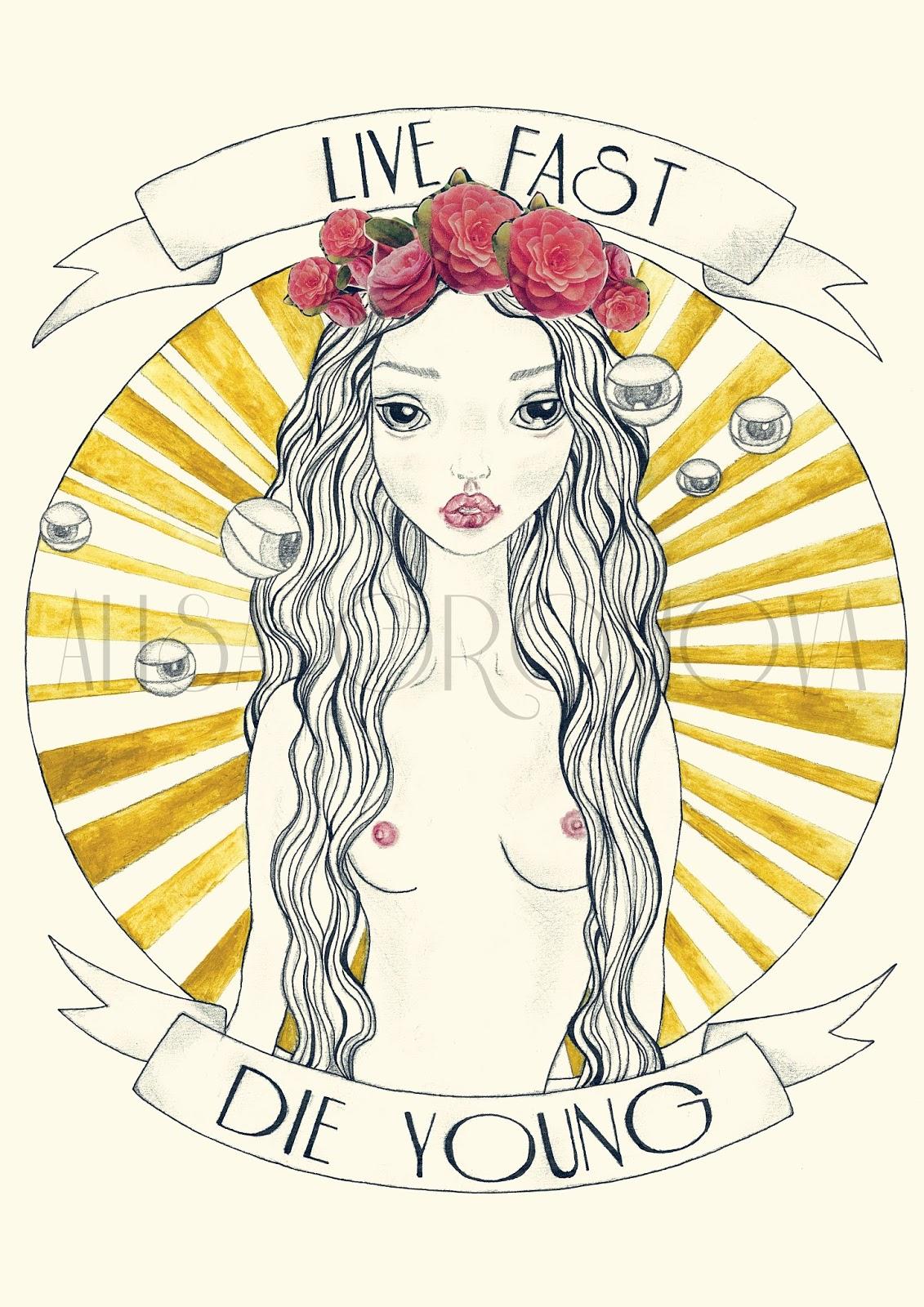 Alisa Gromova ilustración