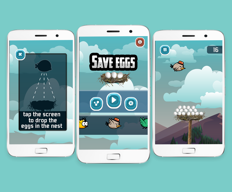 SAVE THE EGGS - IOS X CODE FILE - 3