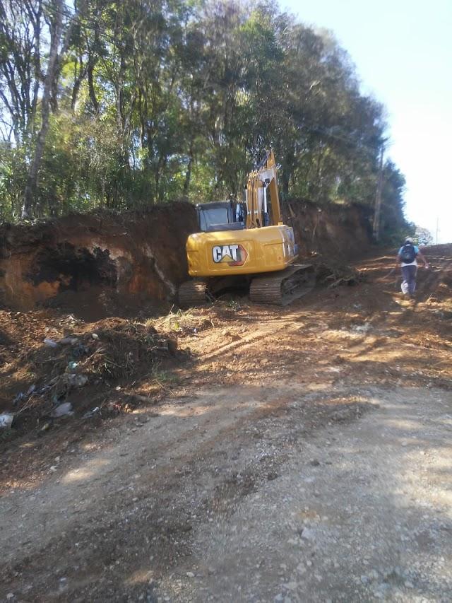 Obras de pavimentação da Rua do Sabiá entram em fase de escavação