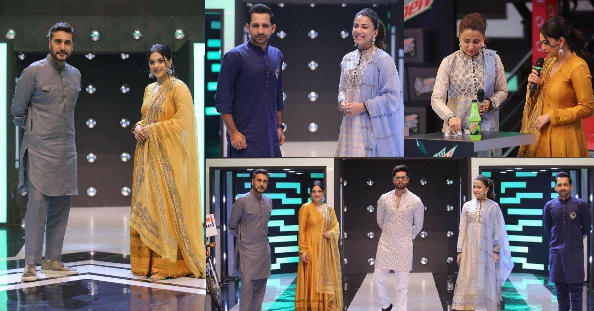 Jeeto Pakistan League| Sanam Jung And Ushna Shah Beautiful Clicks