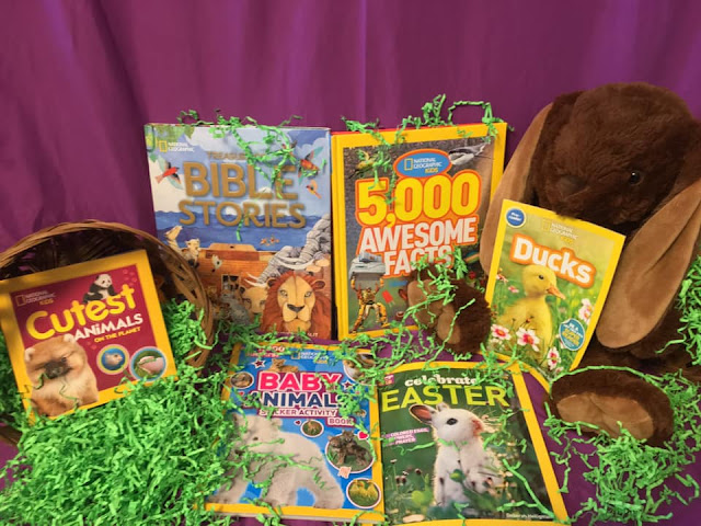 National Geographic Easter Basket Prize Giveaway