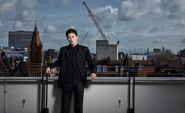 Pavel Durov está doando 1 milhão para a construção de bots