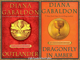 Outlander, Dragonfly in Amber, Diana Gabaldon, Audible Books, historical fiction, drama