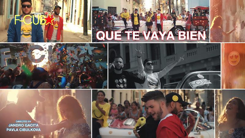F-CUBA & Franco Balboa - ¨Que te vaya bien¨ - Videoclip - Dirección: Jandro Gácita - Pavla Cibulková. Portal Del Vídeo Clip Cubano