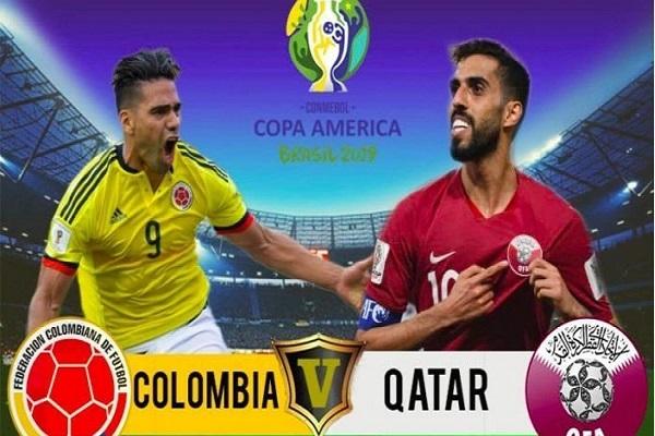 قطر و كولومبيا