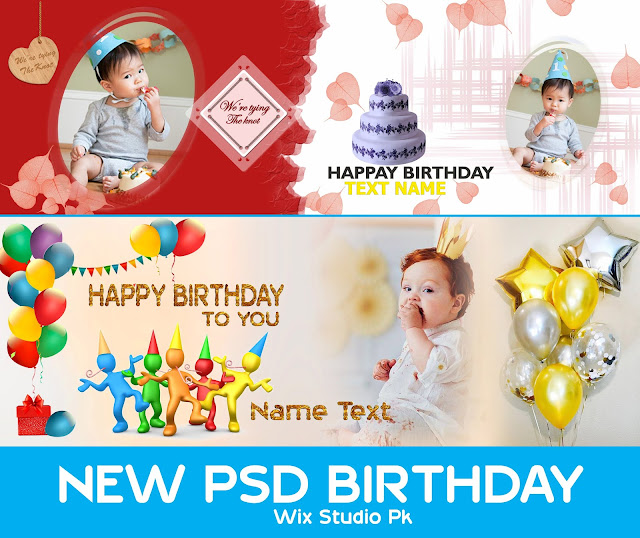 New Birthday Album Psd 2021-12x36 Free Download