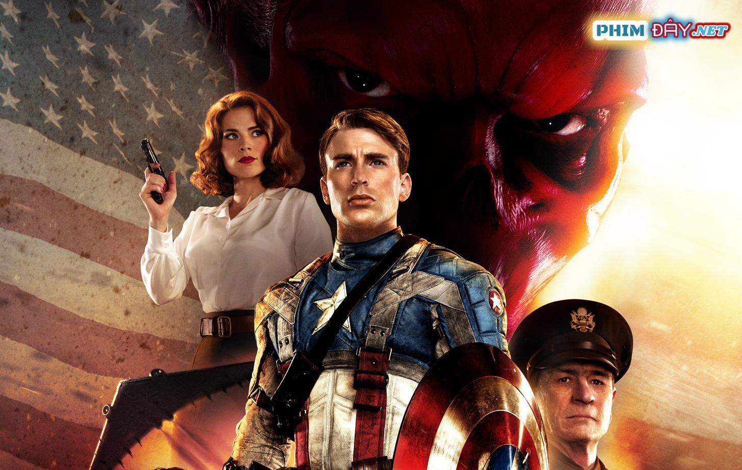CAPTAIN AMERICA: KẺ BÁO THÙ ĐẦU TIÊN - Captain America: The First Avenger (2011)