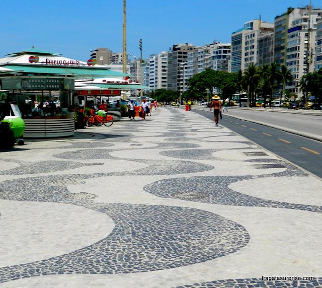 Calçadão de Copacabana, Rio de Janeiro