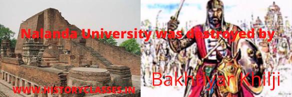the destroyer of nalnda university