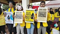 Demo Mahasiswa UI yang Bikin Ngakak