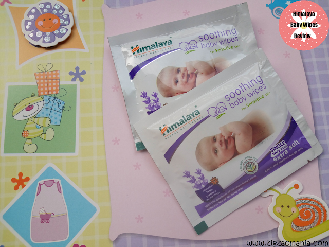 Himalaya Baby wipes- Front view
