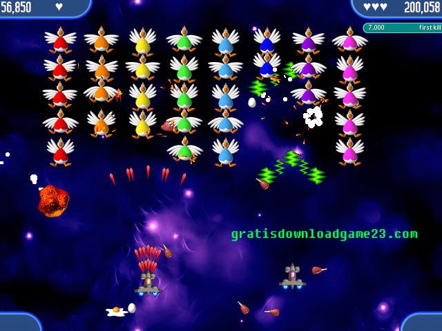download chicken invaders
