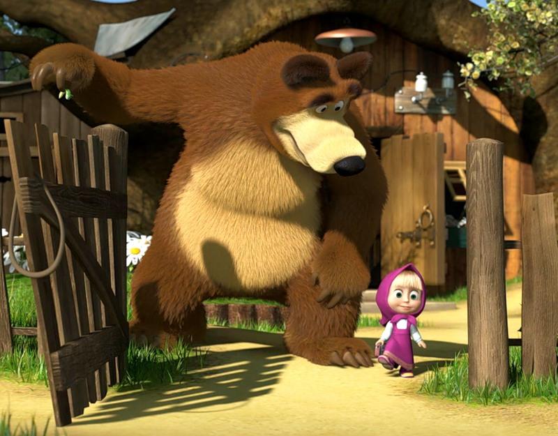Russia Show Desenho Animado Masha E O Urso O Primeiro Encontro