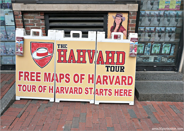 Mapas Gratis en Harvard Square, Cambridge
