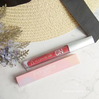 Review Lip Cream Evangeline & Madame Gie