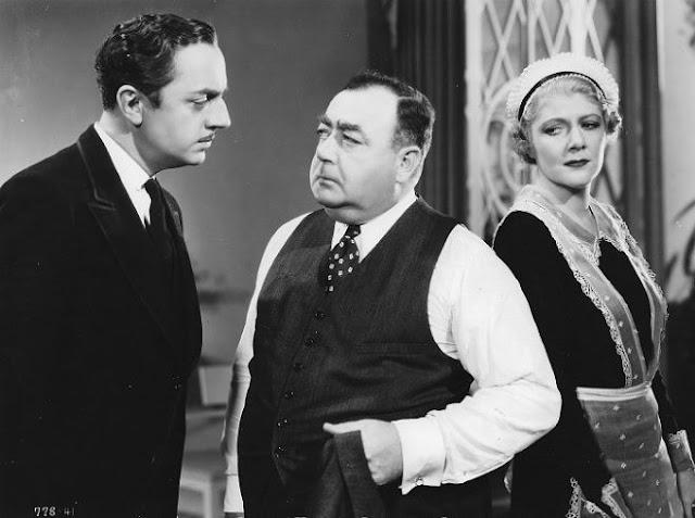 William Powell, Eugene Pallette and Jean Dixon