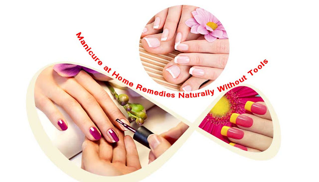 Manicure at Home Remedies Naturally Without Tools in Bengali
