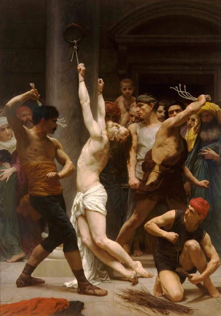 Адольф Вильям Бугро - Бичевание Христа (1880)