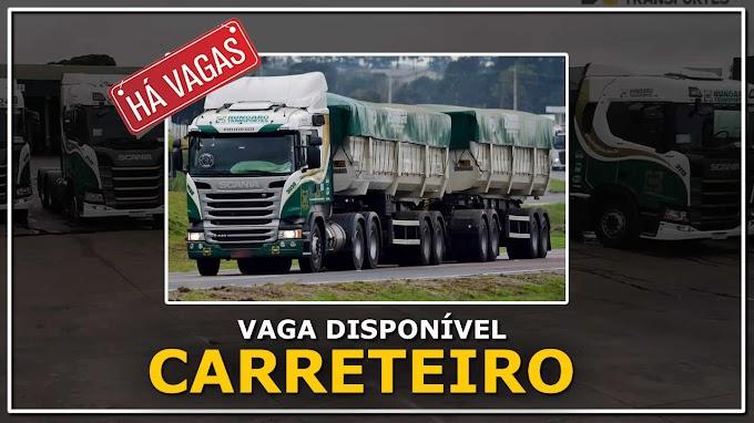Transportadora Hungaro abre processo seletivo para Motorista carreteiro