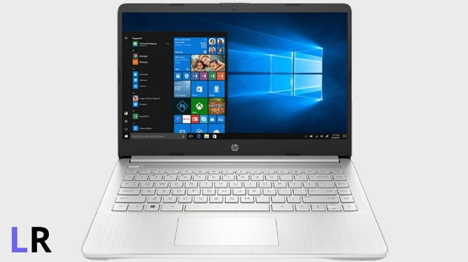 HP 14s DR1009TU laptop under Rs 60,000 in India.