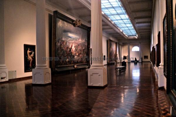 Salão principal do Museu de Belas Artes (RJ)