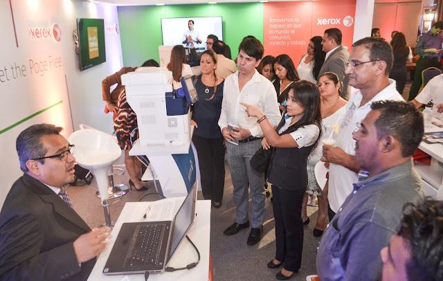 Xerox del ecuador presentó su oferta al mercado guayaquileño