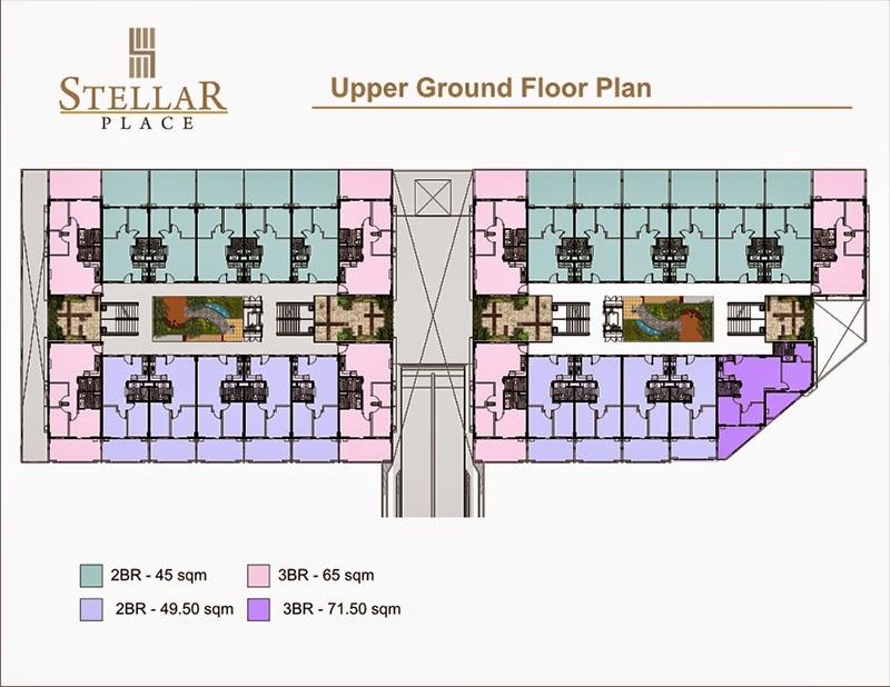 Stellar Place Upper Ground Floor Plan