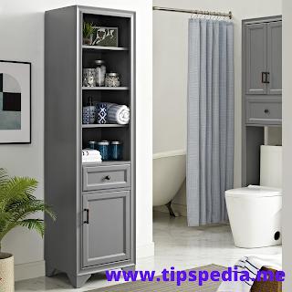 crosley bathroom wall cabinet