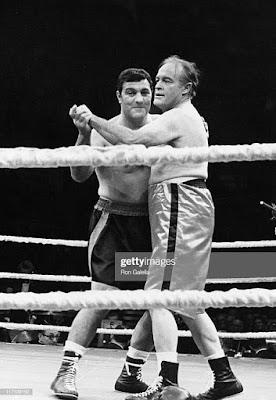 Rocky Marciano vs Bob Hope