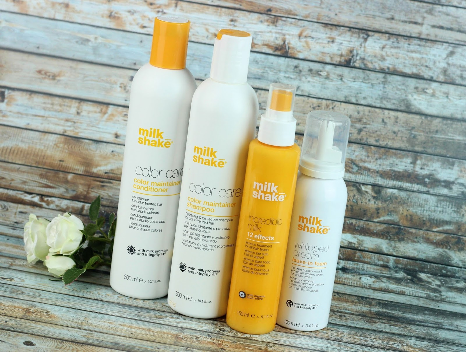 color care, Color Maintainer Conditioner, coloriertes haar, conditioner, conditioning whipped cream, haarpflege, incredible milk, leave in, milk_shake, review, shampoo, trendmeister beauty event, trockenes haar,