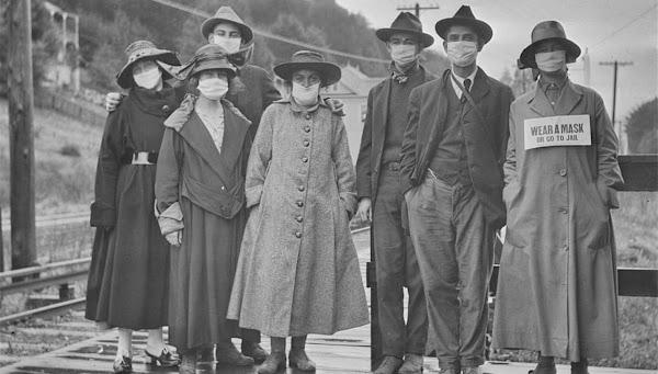 Στο πόλεμο της πλύσης εγκεφάλου και η  Ισπανική δήθεν Γρίπη του 1918