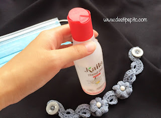 Tutup botol kemasan Kaila Hand Gel
