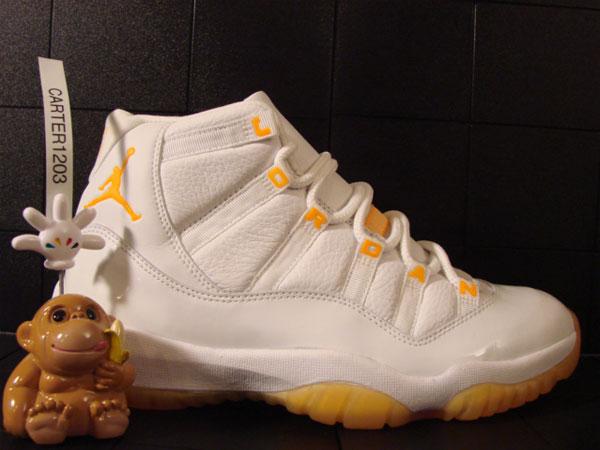 "a4eaaa11f75fc6 THE SNEAKER ADDICT  Air Jordan 11 ""Citrus"" Sneaker Sample"