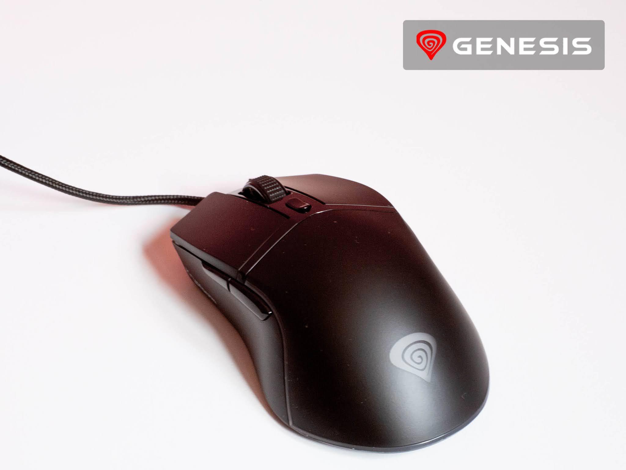 Myszka Genesis Krypton 220 wygląd
