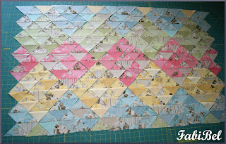 Patchwork Baby blanket drawing a sketch
