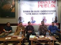 """Forum Mahasiswa dan Pemuda Pengawal NKRI Gelar Diskusi """"Damai di Bumi Cendrawih, Kita Semua Bersaudara"""""""