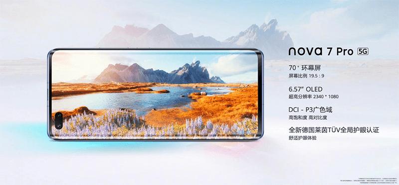 Nova 7 Pro Display