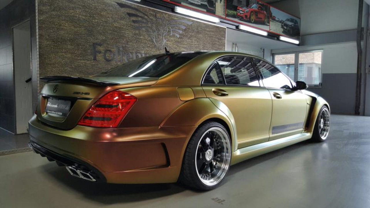 "Mercedes W221 Prior Design Chameleon on 21"" G&B Design ..."