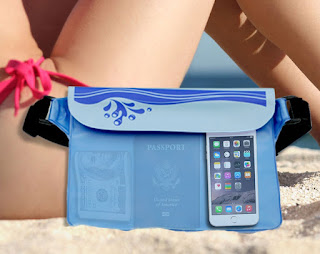 Waterproof Bag for Phone (Covert Design) - Waterproof Beach Bag for Money, iPhone and Camera. This Waterproof Pouch / Dry Bag is Good for Swimming & Keeping Your Electronics and Valuable Dry & Safe by Tobe Alfresco
