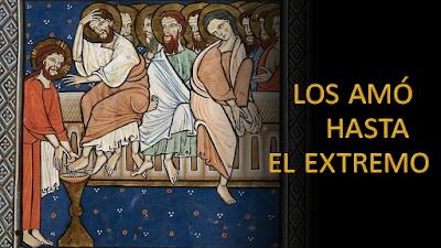 Evangelio según san Juan (13,1-15): Los amó hasta el extremo